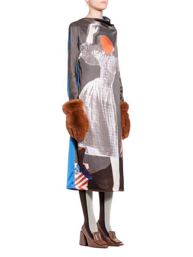 Marni Kleid mit langen Ärmeln Damen - 5