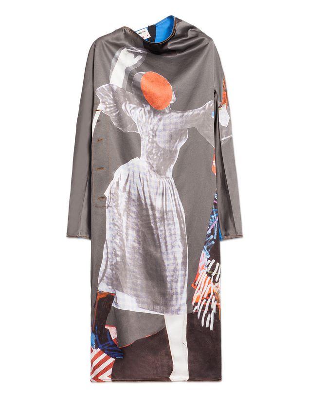 Marni Kleid mit langen Ärmeln Damen - 2
