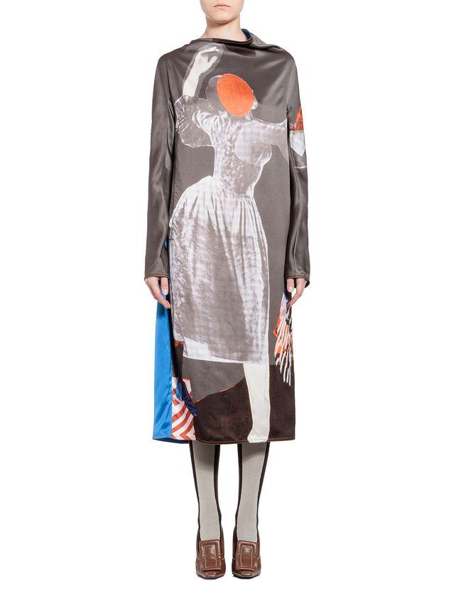 Marni Kleid mit langen Ärmeln Damen - 1