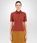 BOTTEGA VENETA DARK TERRACOTTA NERO SWEATER Knitwear or Top or Shirt Woman fp