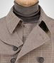 BOTTEGA VENETA TRENCH IN MULTICOLOR MICRO CHECK WATERPROOF COTTON Outerwear and Jacket Man ap
