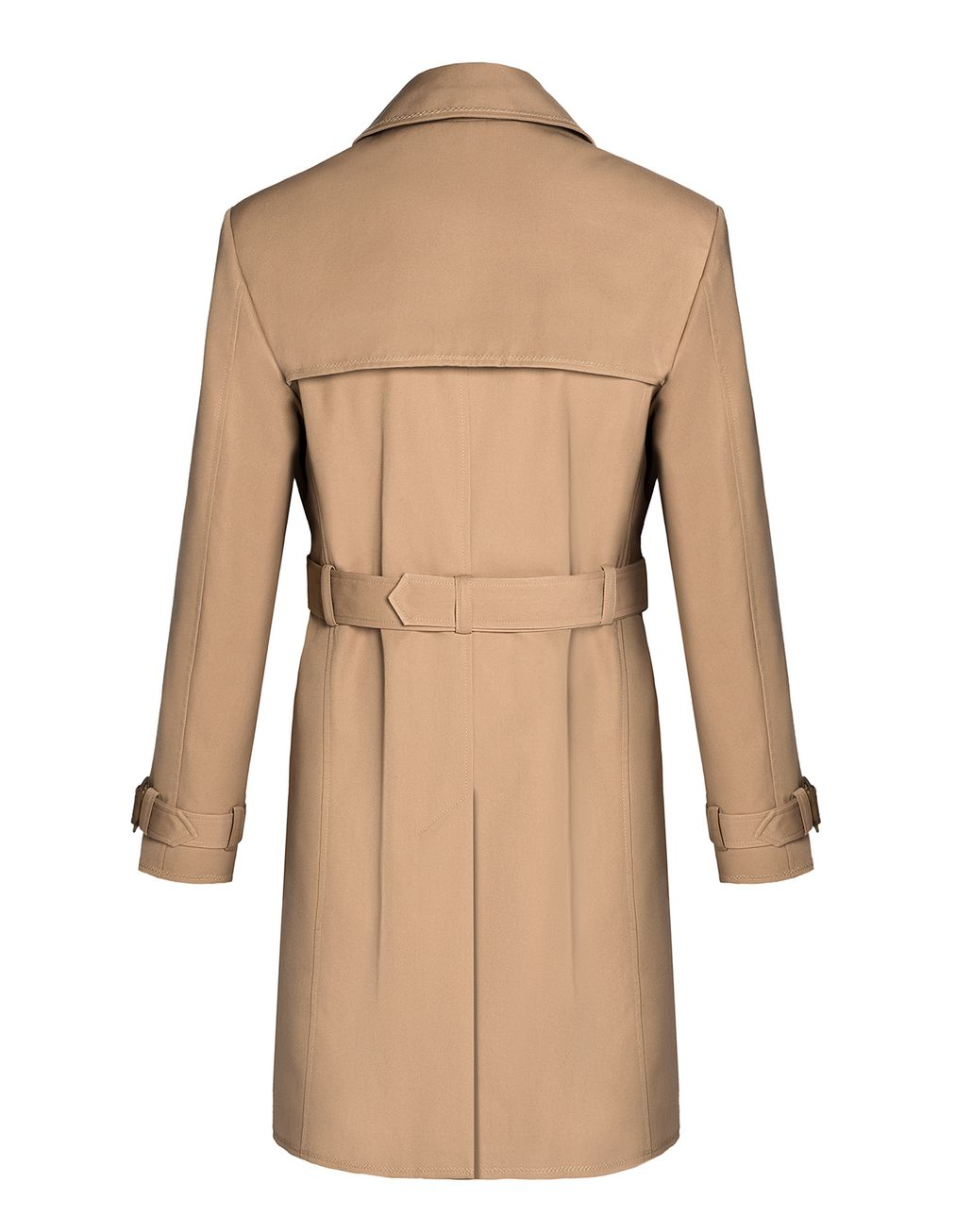 BRIONI Beige Double Breasted Trench Coat Coats & Raincoats Man r