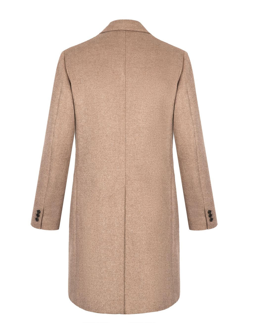 BRIONI Beige Double Breasted Cashmere Plume Coat Outerwear Man r