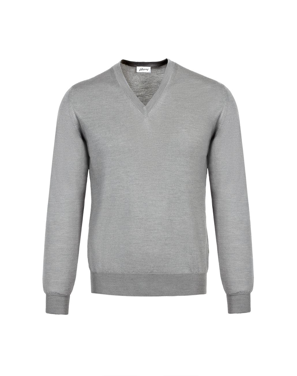 BRIONI Lead V- Neck Sweater Knitwear U f