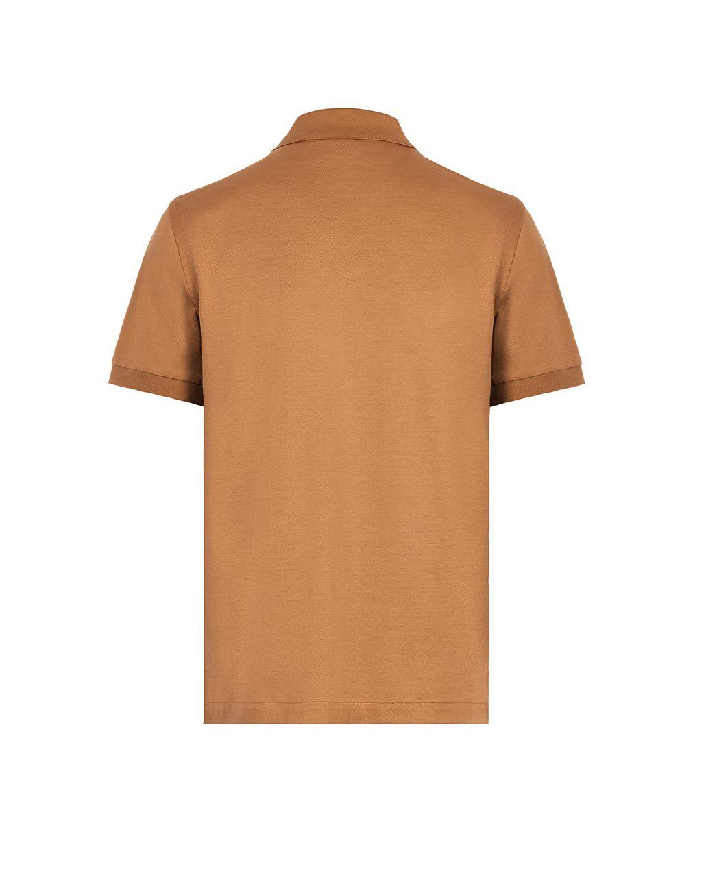 BRIONI Beige Logo Polo Shirt T-Shirts & Polos Man d