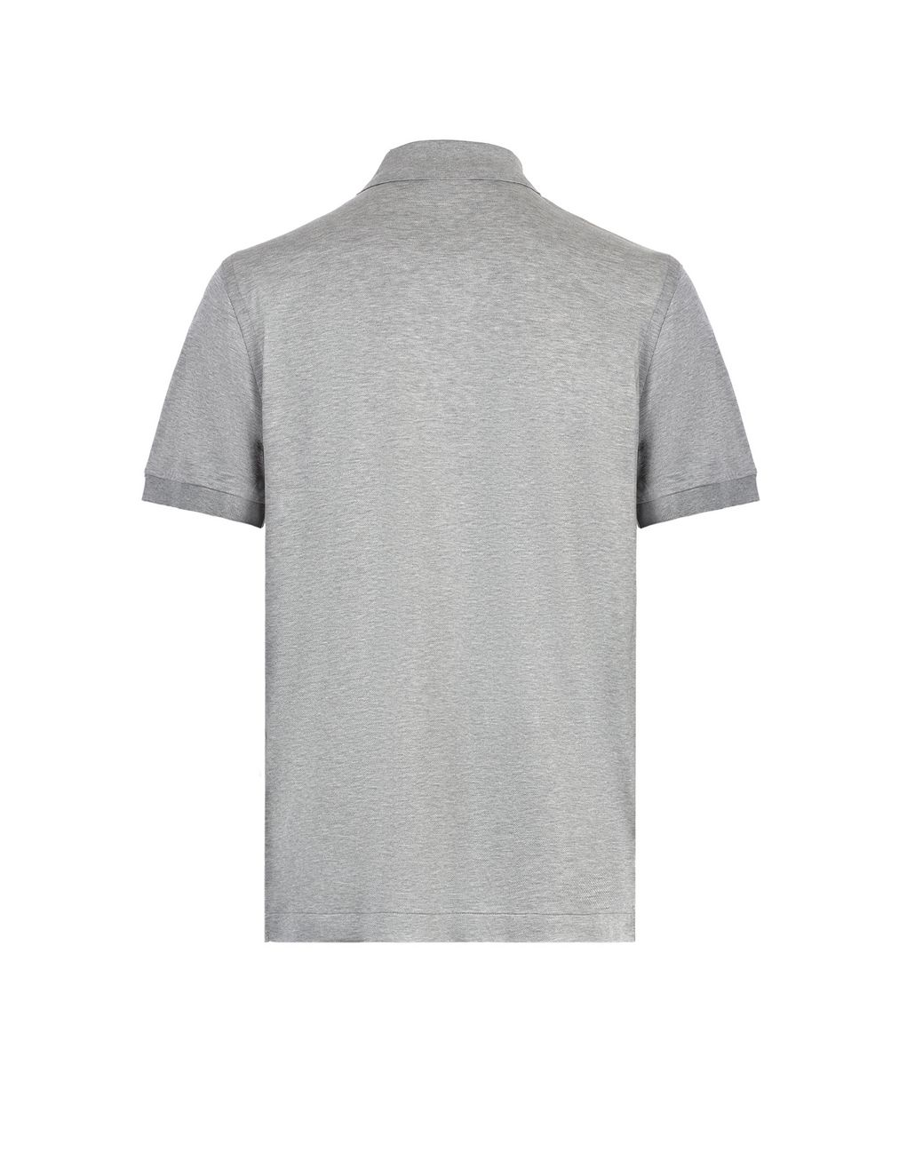 BRIONI Grey Logo Polo Shirt T-Shirts & Polos [*** pickupInStoreShippingNotGuaranteed_info ***] d