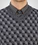BOTTEGA VENETA SWEATER IN MULTICOLOR MERINOS WOOL JACQUARD Knitwear U ap