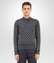 BOTTEGA VENETA SWEATER IN MULTICOLOR MERINOS WOOL JACQUARD Knitwear U fp
