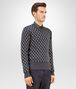 BOTTEGA VENETA SWEATER IN MULTICOLOR MERINOS WOOL JACQUARD Knitwear U rp