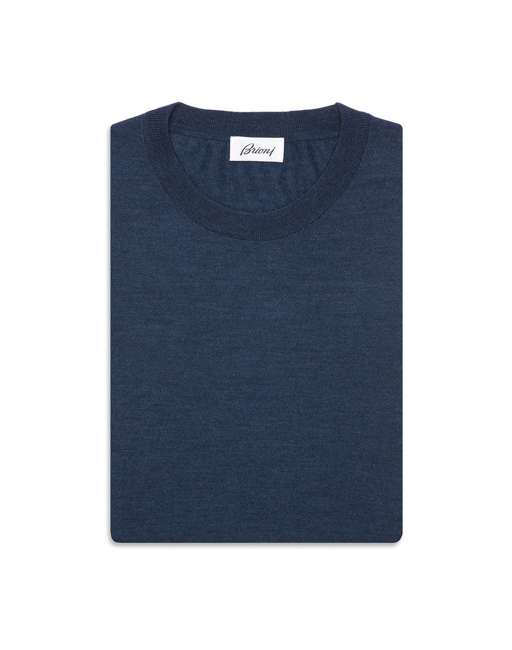 BRIONI Bluette Crew-Neck Sweater Knitwear Man r