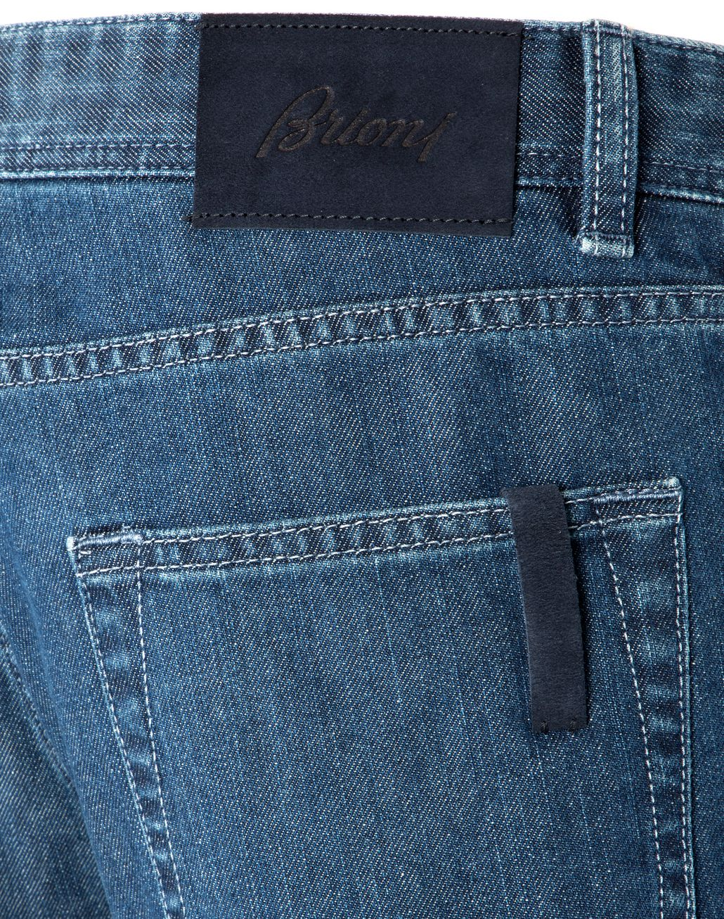 BRIONI Blue Meribel Jeans Denim U d