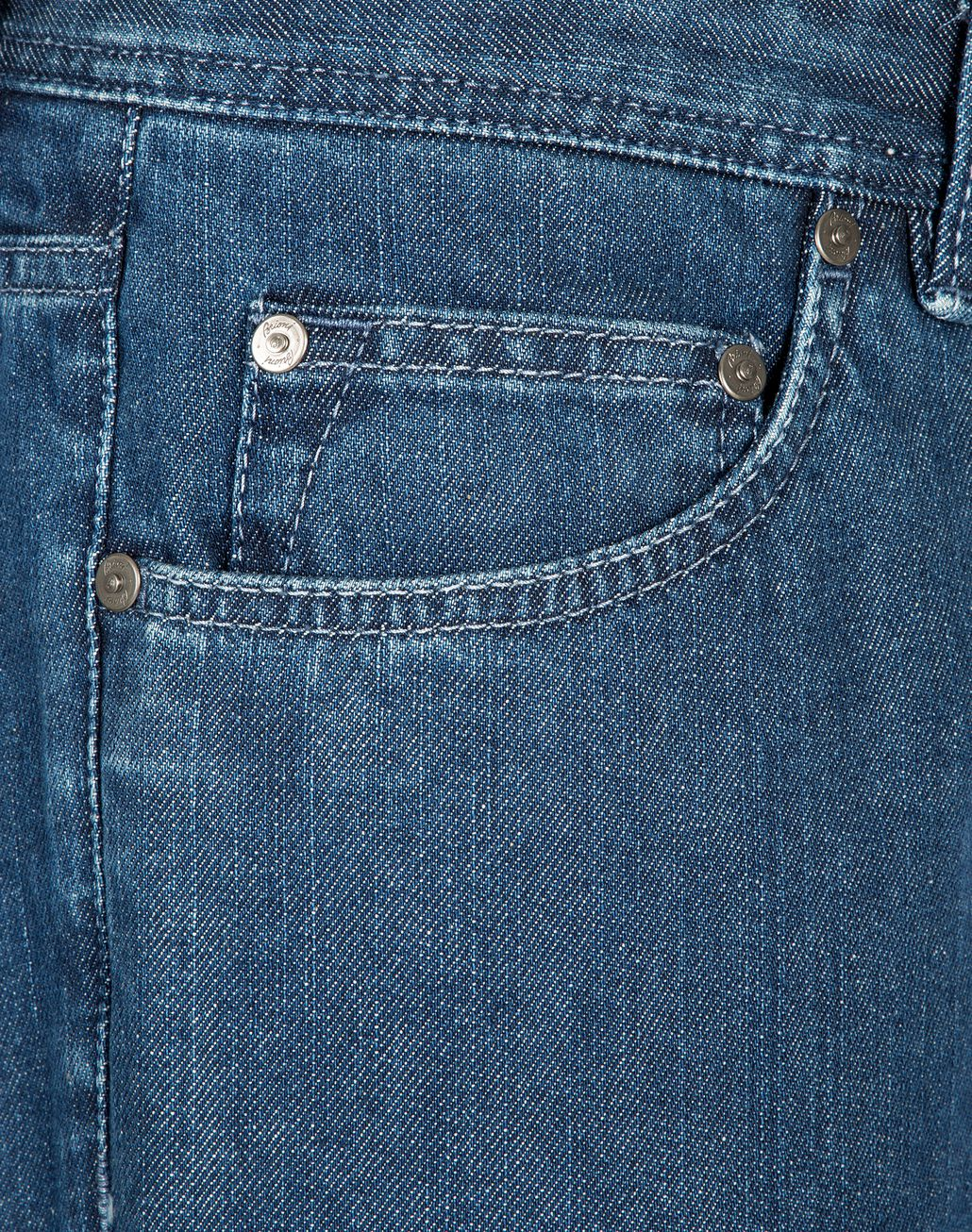 BRIONI Blue Meribel Jeans Denim Man e