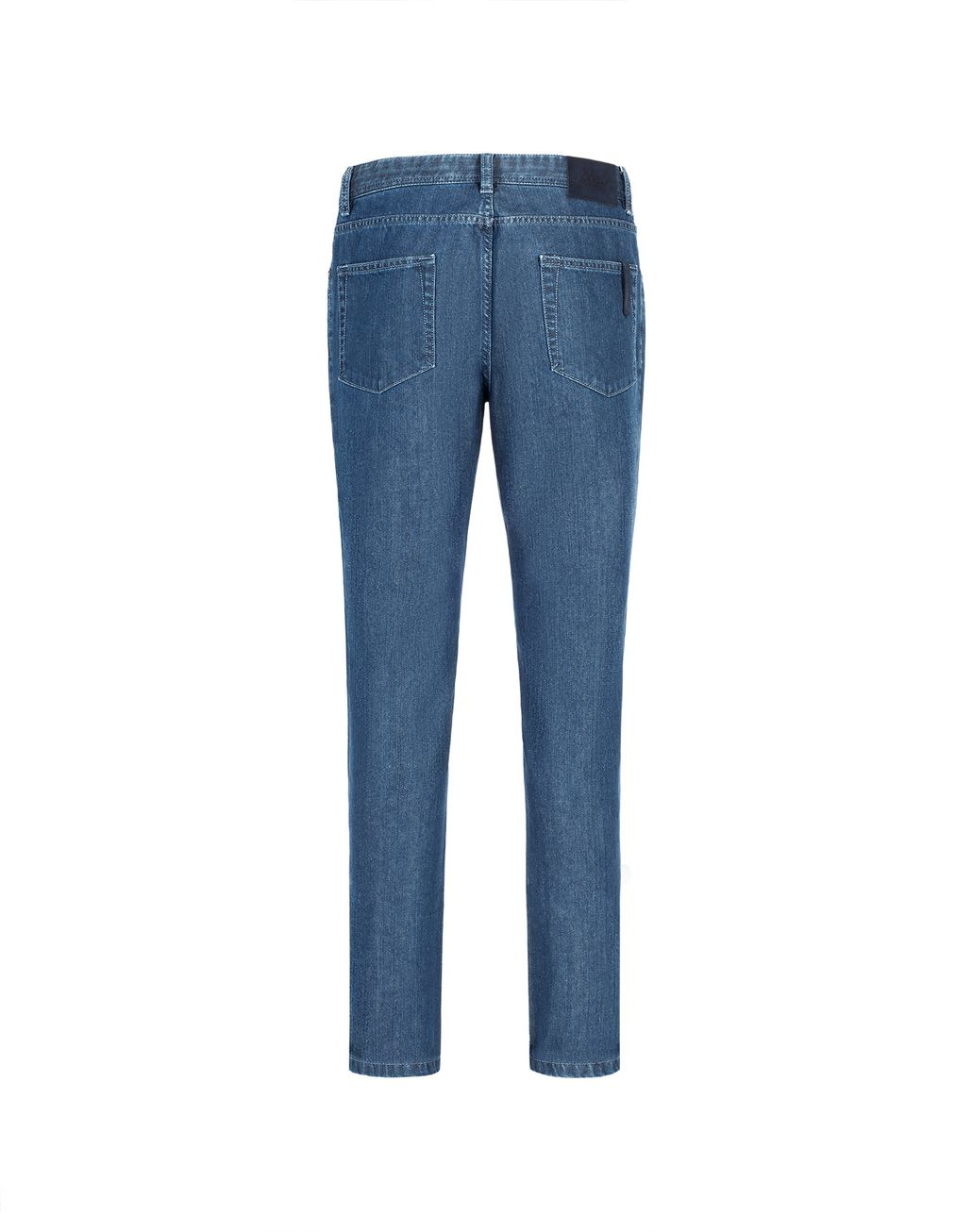 BRIONI Blue Meribel Jeans Denim Man r