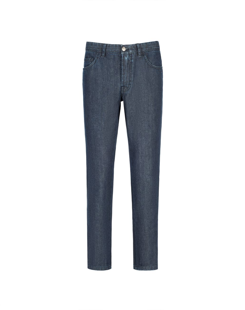 BRIONI Navy Blue Comfort Fit Chamonix Jeans Denim U f