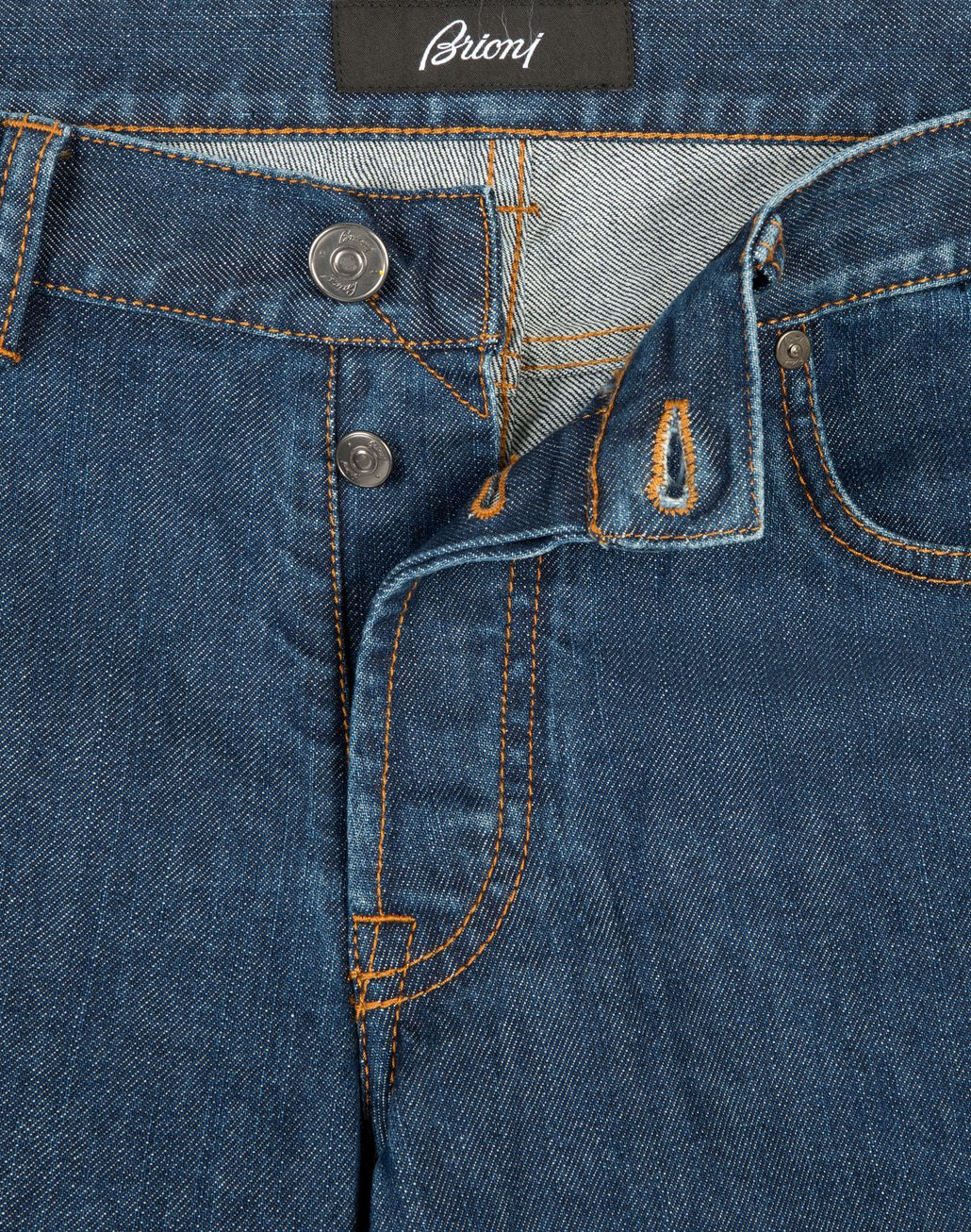 BRIONI Blue Slim Fit Aneto Jeans Denim [*** pickupInStoreShippingNotGuaranteed_info ***] a