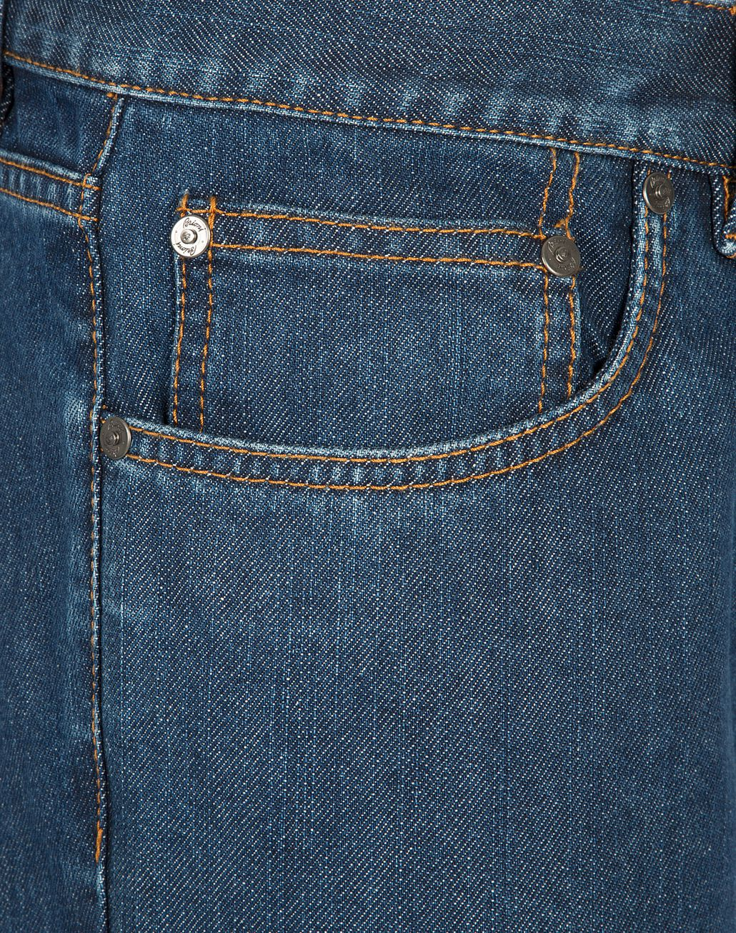 BRIONI Blue Slim Fit Aneto Jeans Denim U e