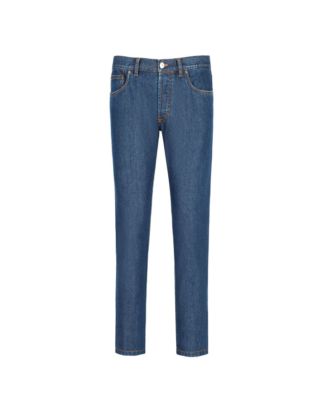 BRIONI Blue Slim Fit Aneto Jeans Denim Man f