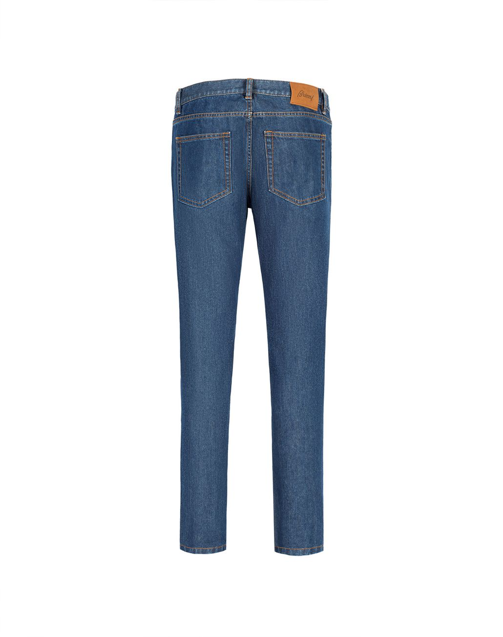 BRIONI Blue Slim Fit Aneto Jeans Denim Man r