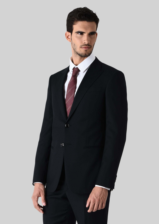 GIORGIO ARMANI TRADER BLU PURE WOOL SUIT Suit U r