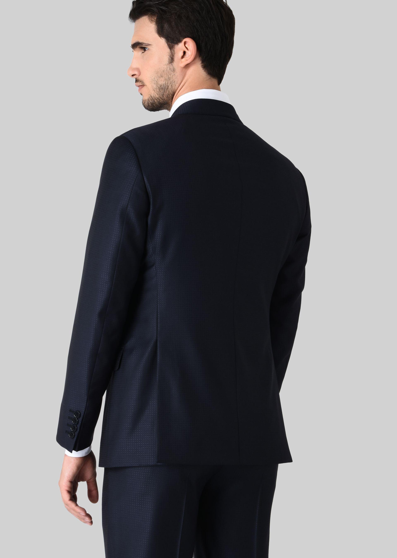 GIORGIO ARMANI スーツ ピュアウールジャカード製 SOFTシリーズ スーツ U e
