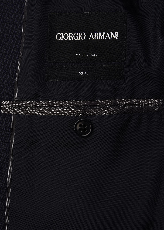 GIORGIO ARMANI スーツ ピュアウールジャカード製 SOFTシリーズ スーツ U i