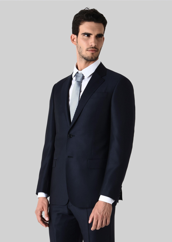 GIORGIO ARMANI スーツ ピュアウールジャカード製 SOFTシリーズ スーツ U r