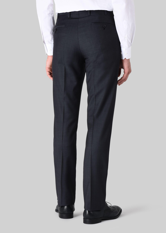 GIORGIO ARMANI TRADER BLU PURE WOOL SUIT Suit U c