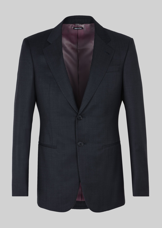 GIORGIO ARMANI TRADER BLU PURE WOOL SUIT Suit U d