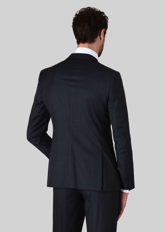 GIORGIO ARMANI TRADER BLU PURE WOOL SUIT Suit U e