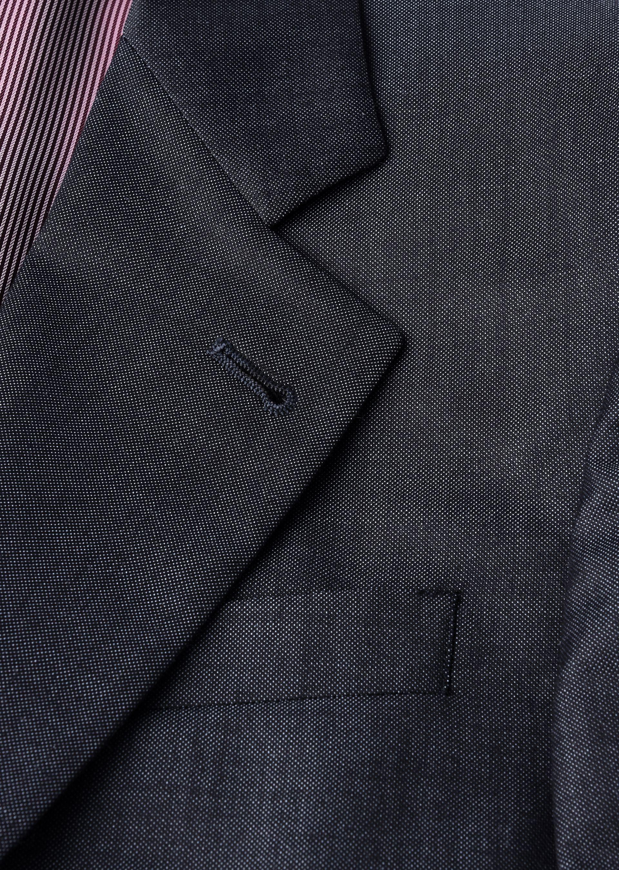 GIORGIO ARMANI TRADER BLU PURE WOOL SUIT Suit U h