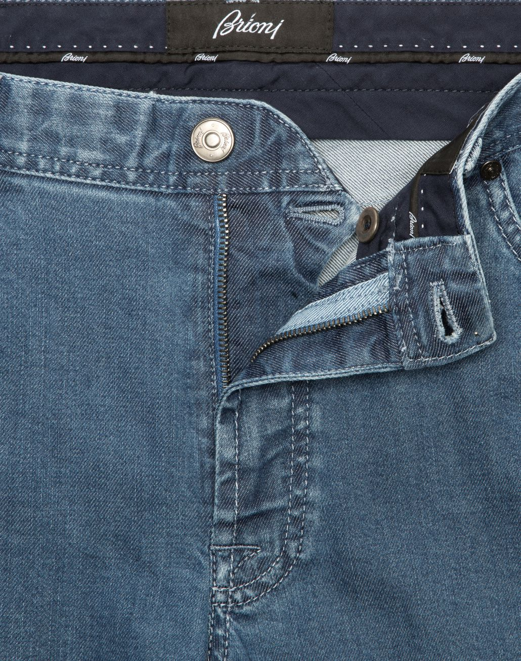 BRIONI Hellblaue Jeans Meribel Denim [*** pickupInStoreShippingNotGuaranteed_info ***] a