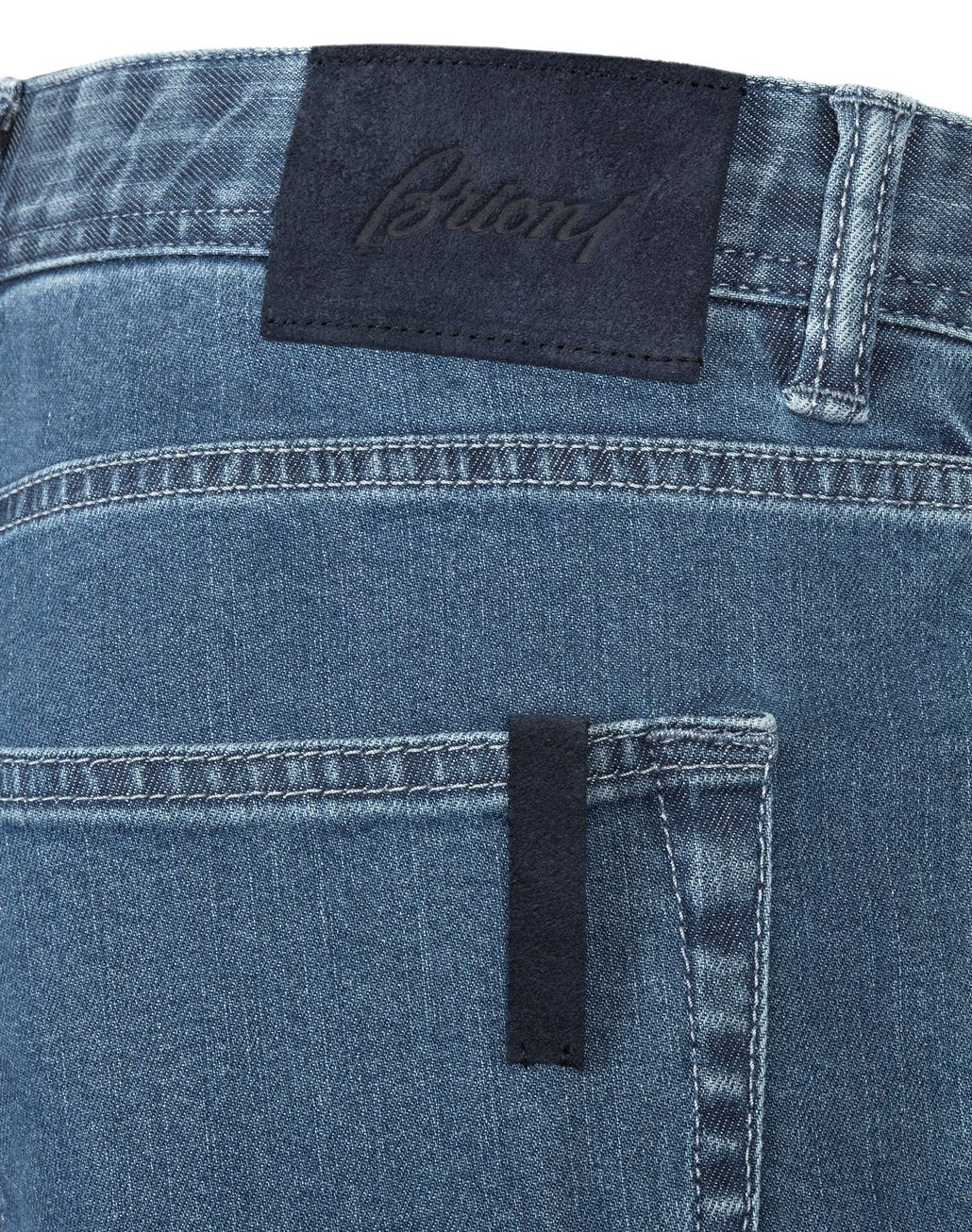 BRIONI Light Blue Meribel Jeans Denim Man d