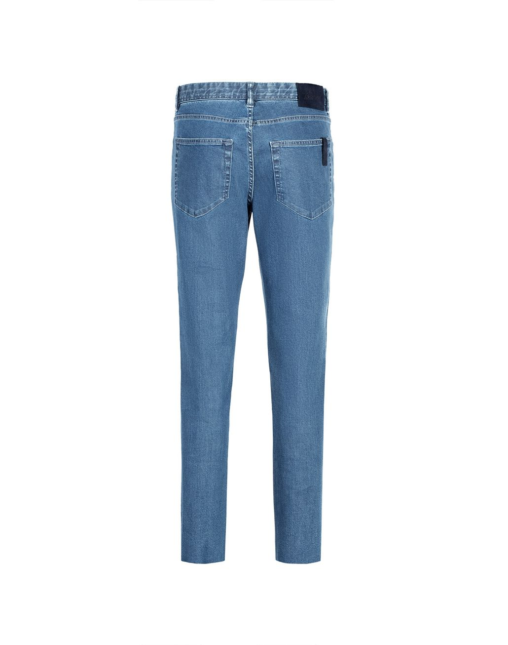 BRIONI Light Blue Meribel Jeans Denim Man r