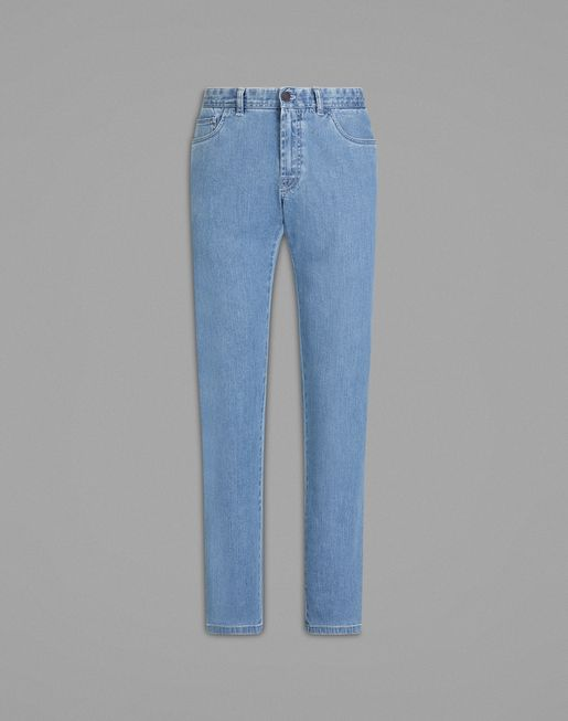 Hellblaue Comfort fit-Jeans