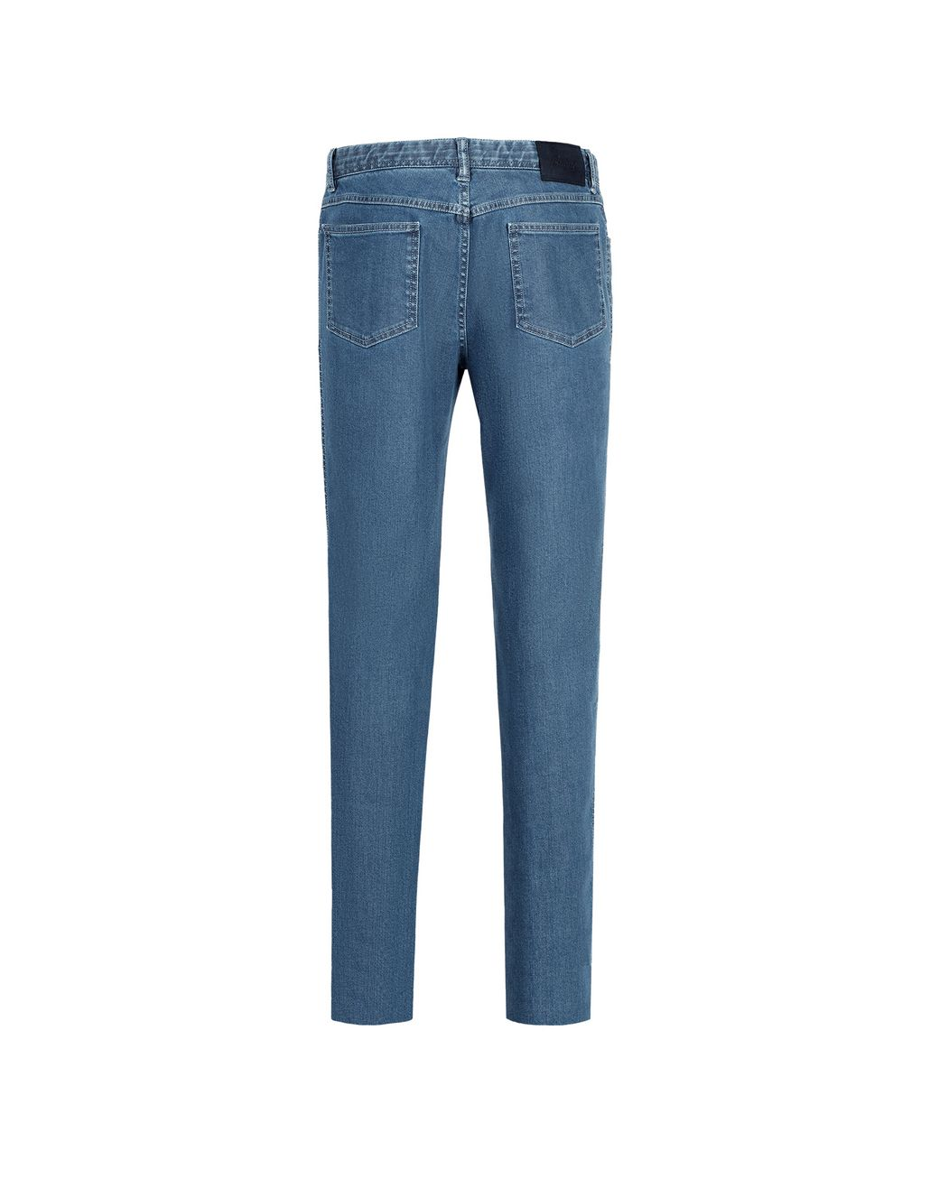 BRIONI Light Blue Comfort Fit Chamonix Jeans Denim Man r