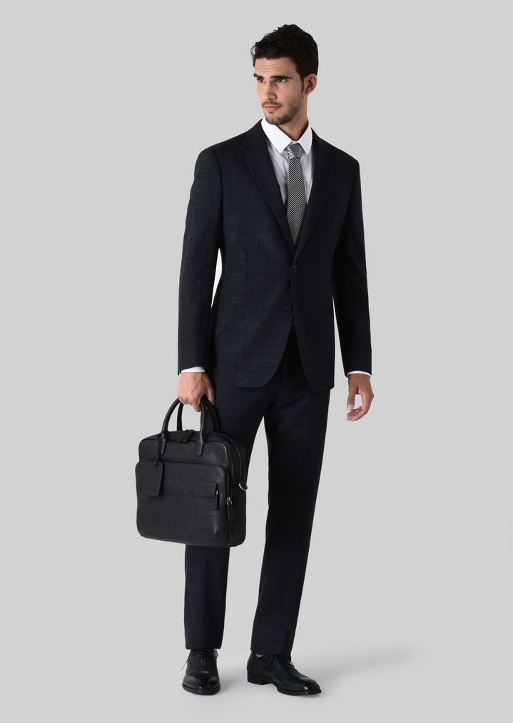 SUIT FROM THE SOHO LINE IN WOOL AND ALPACA  968b5a0380942