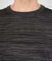BOTTEGA VENETA DARK GREY SILK COTTON SWEATER Knitwear Man ap