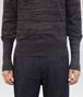 BOTTEGA VENETA DARK GREY SILK COTTON SWEATER Knitwear U ep