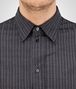 BOTTEGA VENETA GREY COTTON JERSEY SHIRT Formalwear or shirt Man ap