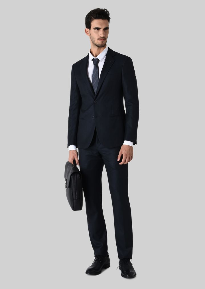 GIORGIO ARMANI SOHO WOOL SUIT Suit Man f ...