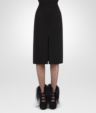 NERO DOUBLE CASHMERE SKIRT