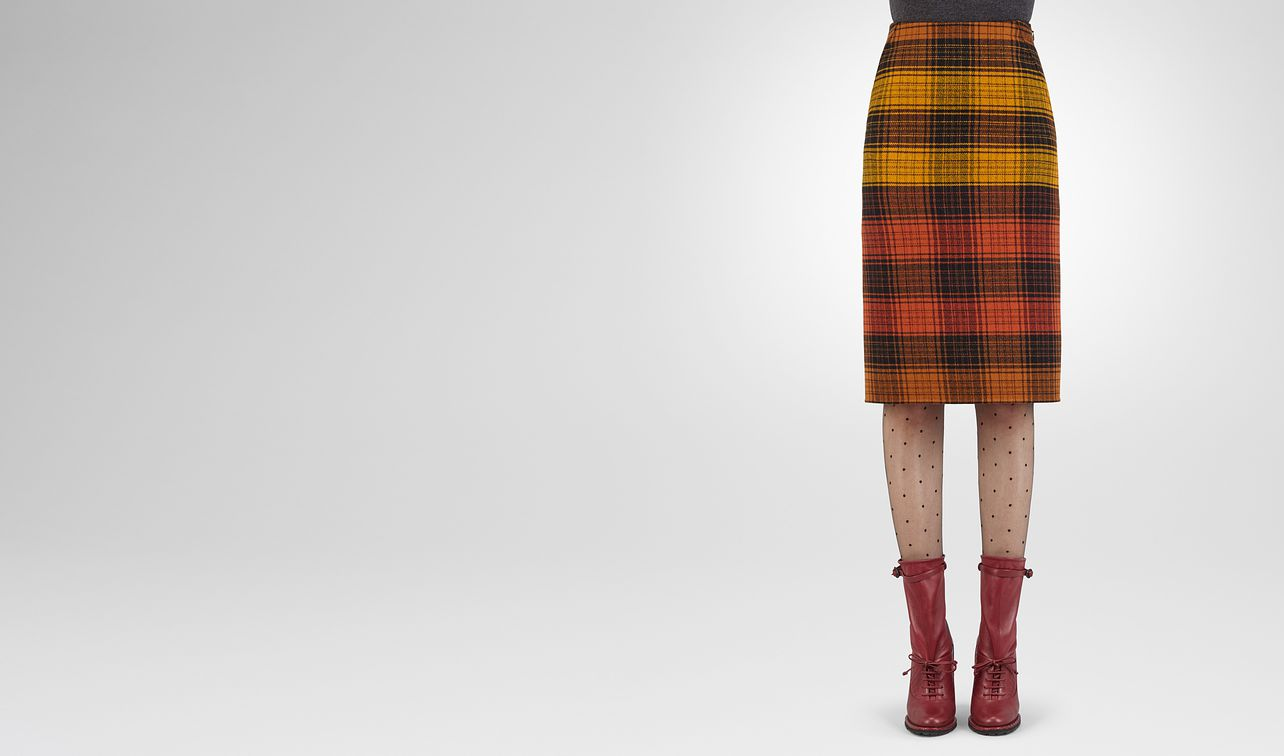 multicolour wool skirt landing