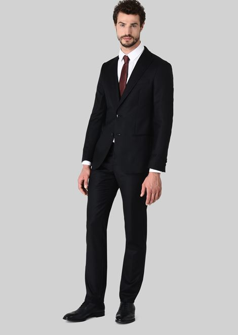 SOHO WOOL AND CASHMERE SUIT