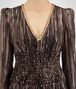 BOTTEGA VENETA ESPRESSO SILK JACQUARD LONG DRESS Dress Woman ap