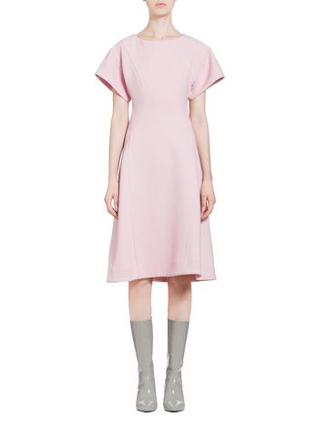 Marni Dress in double-face crepe Woman