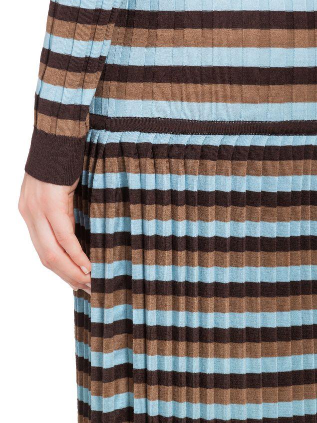 71e59023055 MARNI Платье с длинным рукавом Для Женщин Шерстяное платье в резинку d