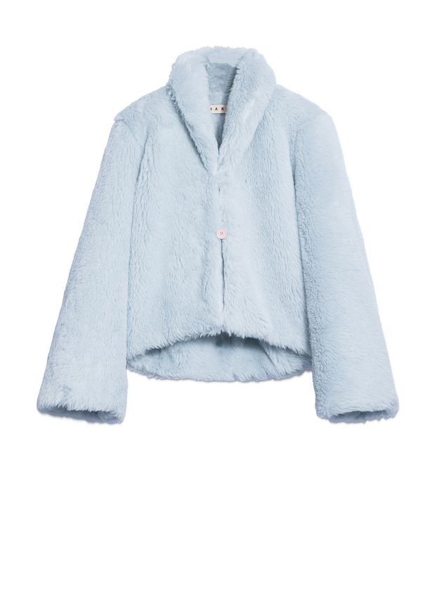 Marni Jacket in diagonal alpaca Woman - 2