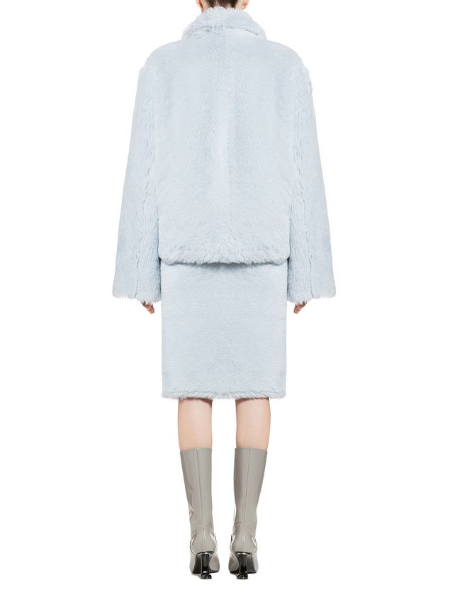 Marni Jacket in diagonal alpaca Woman - 3