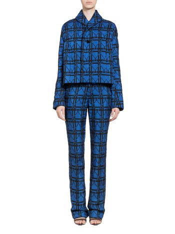 Marni Jacket in check jacquard Woman