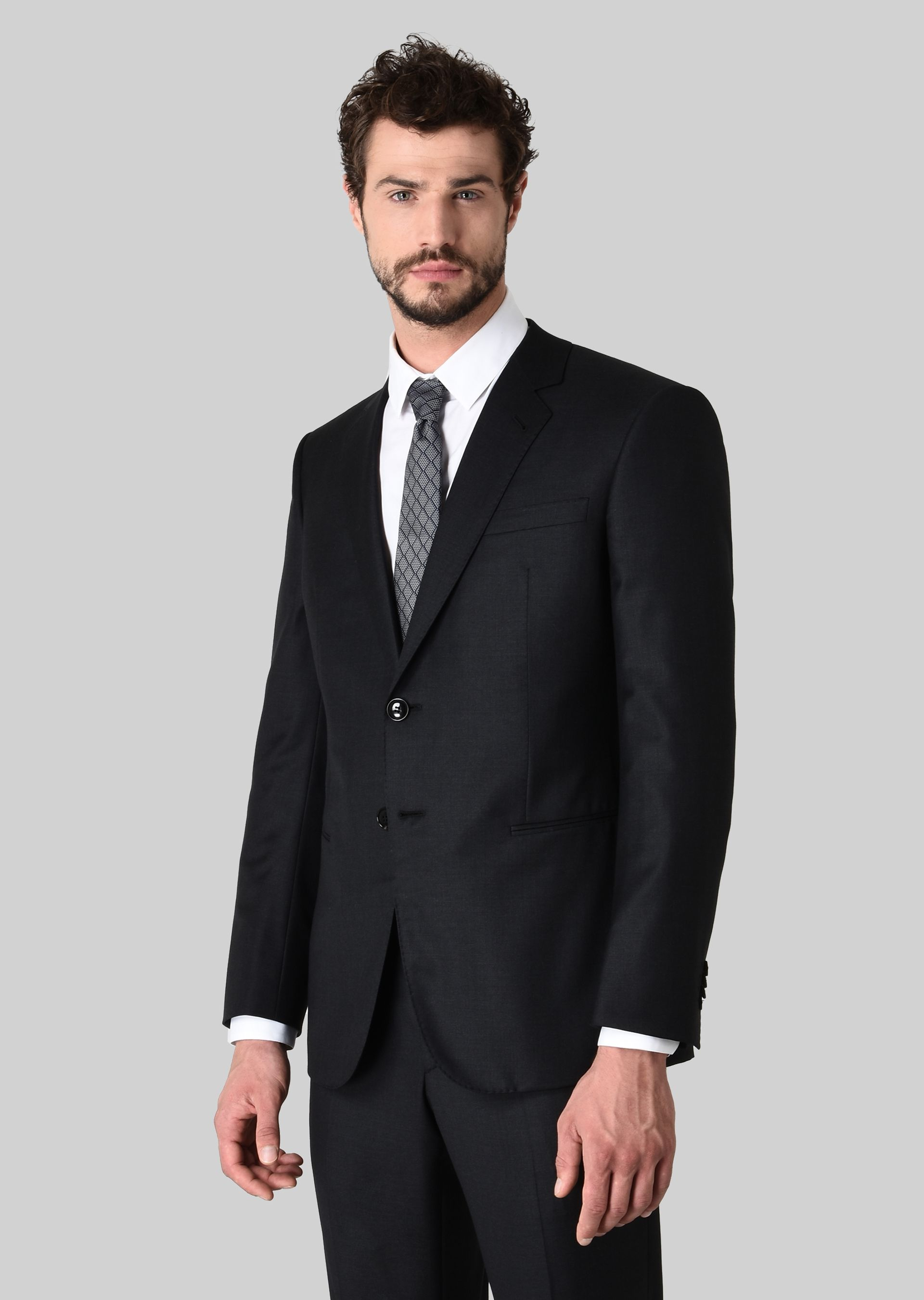 GIORGIO ARMANI WALL STREET WOOL AND CASHMERE SUIT Suit U r